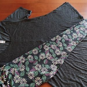 LULAROE Other - LULAROE OUTFIT! S- PERFECT-T TOP & OS- LEGGINGS